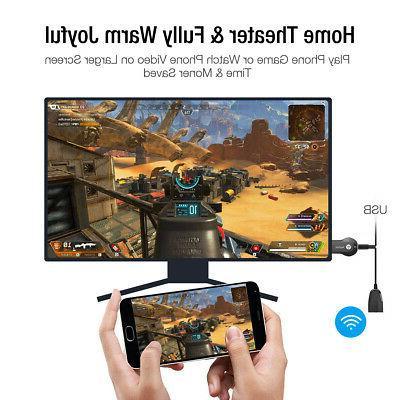 Wireless AnyCast WiFi Dongle Stick DLNA