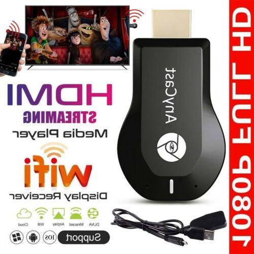 anycast 1080p m2 plus wifi hd hdmi