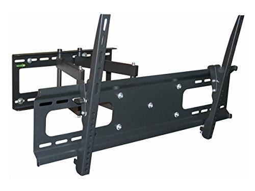 Black Full-Motion Tilt/Swivel Wall Mount Bracket for Insigni