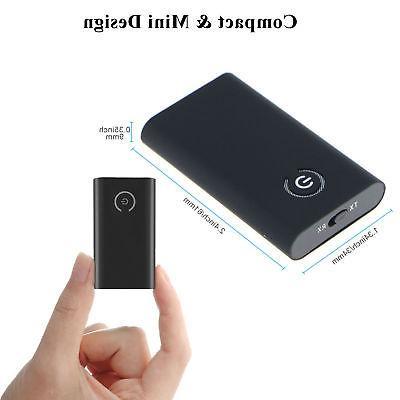2 1 Bluetooth 5.0 Transmitter Receiver Wireless Audio USB 3.5mm Adapter