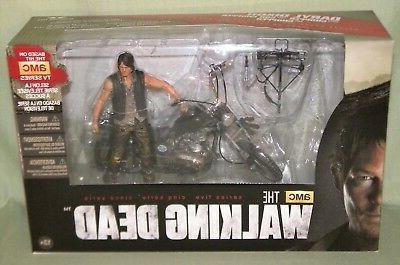 daryl dixon and motorcycle chopper walking dead