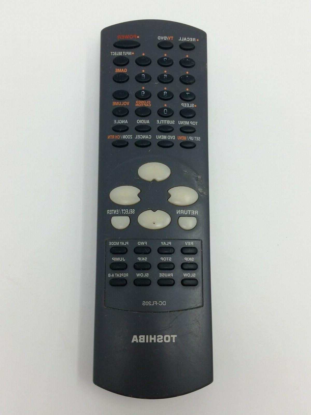 dc fl20s tv dvd player remote control