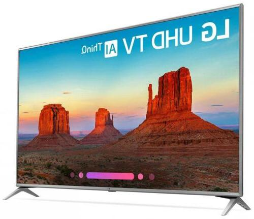 LG Electronics 70UK6570PUB 4K Ultra Smart LED TV
