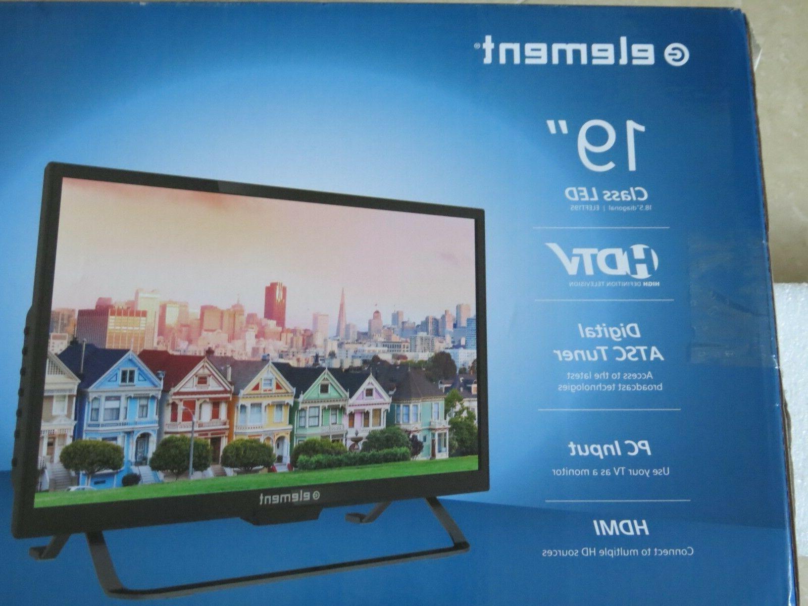 "Element 195 ""Class 720p 60Hz Panel HDTV-Black - New"