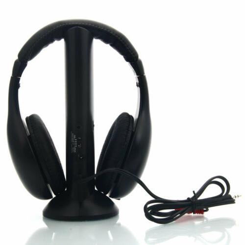 5 in 1 Headset Wireless Headphones Headset DVD