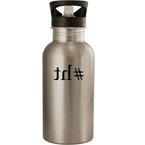#ht - Stainless Steel 20oz Road Ready Water Bottle, Silver