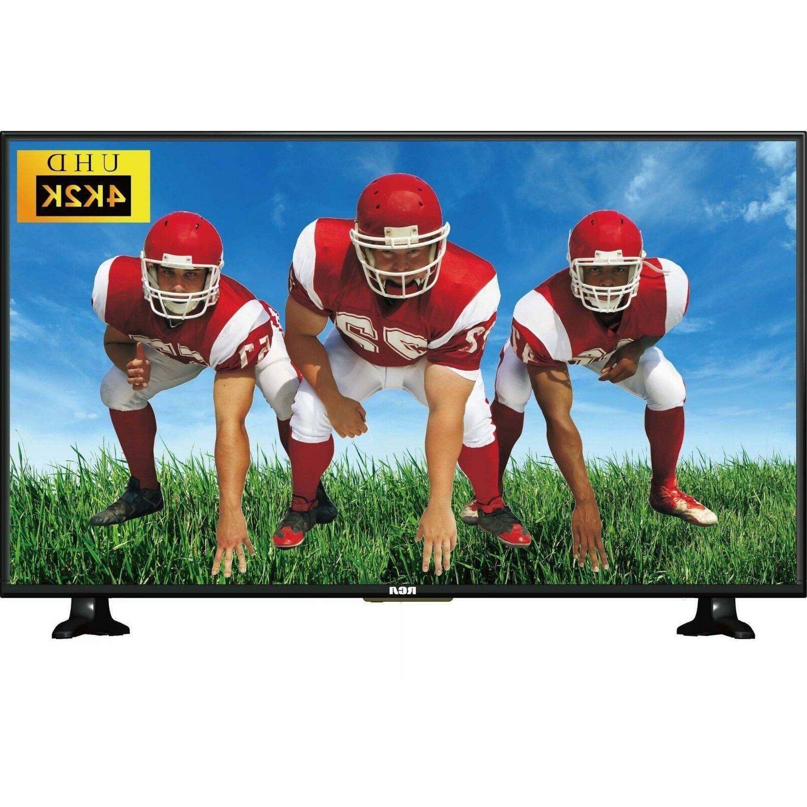 "RCA 55"" Inch 4K ULTRA HD 2160p LED LCD 60Hz TV w/ 4 HDMI RTU"