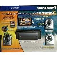 Panasonic Internet Video Monitoring System with 3 Color Came