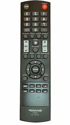 Sharp LCDTV LC-RC1-16 LCRC116 Remote Control for Models LC-5