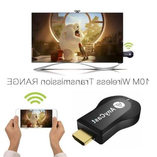 AnyCast M2 Display Dongle Receiver Miracast HDMI HDTV US