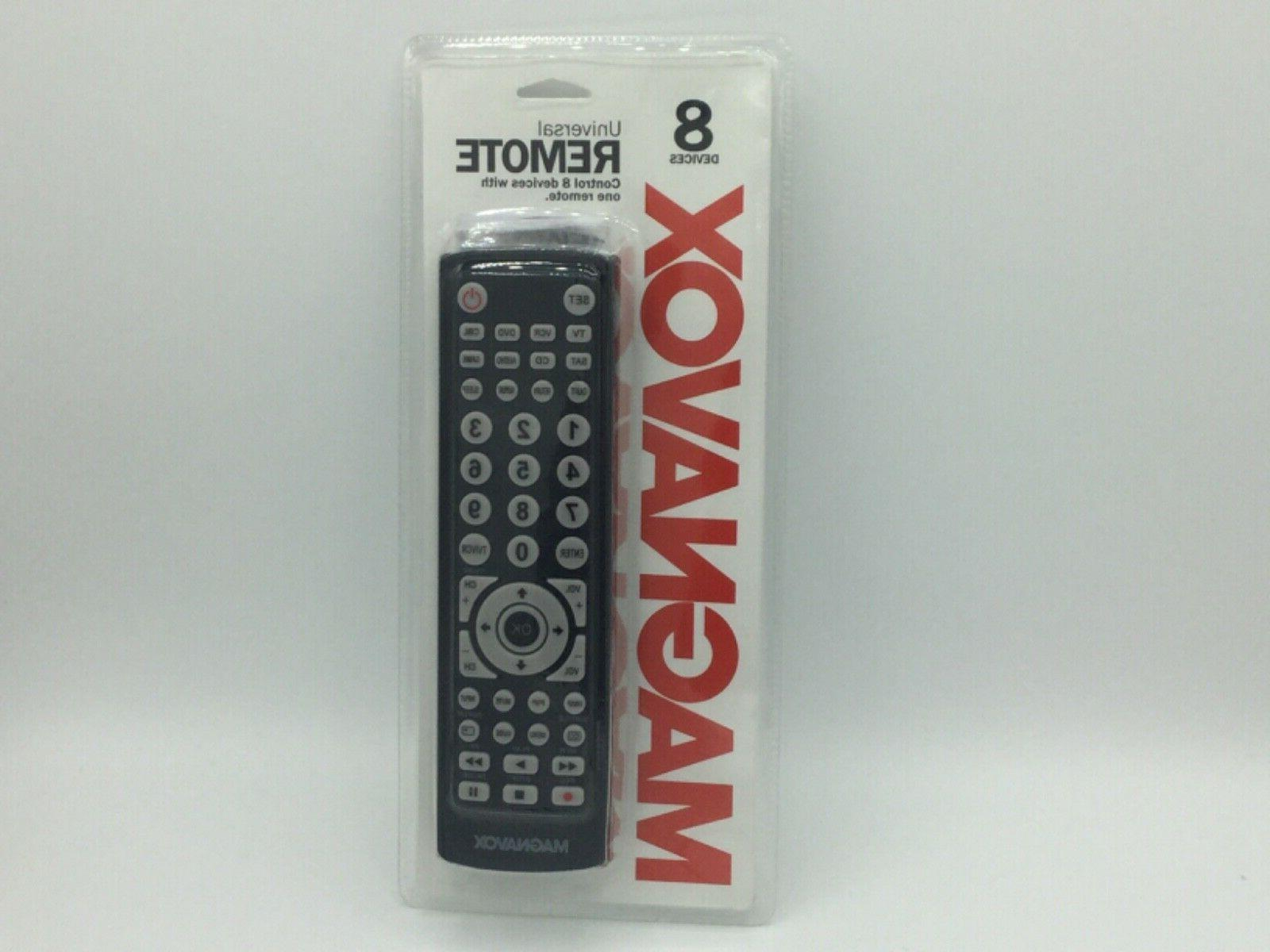 Magnavox 8-in-1 Universal Remote For TVs , Digital TVs , DVD