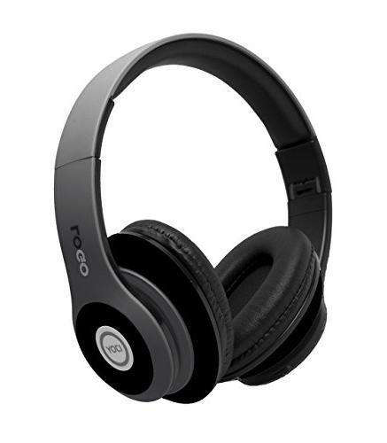 iJoy Rechargeable Wireless Headphones Bluetooth Over Headset