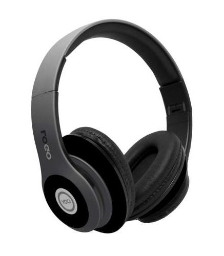 matte finish rechargeable wireless headphones