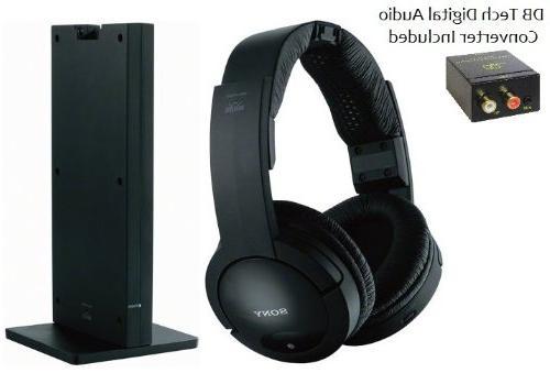 mdrrf985rk rf wireless stereo headphones