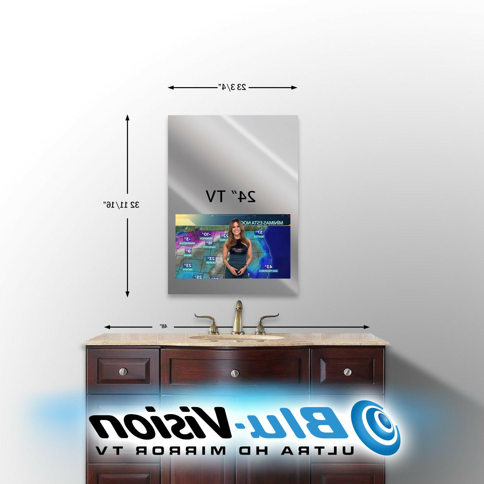 "MIRROR TV LG 24"" CLASS LED SMART 1080p HDTV 23 3/4""W X 3"