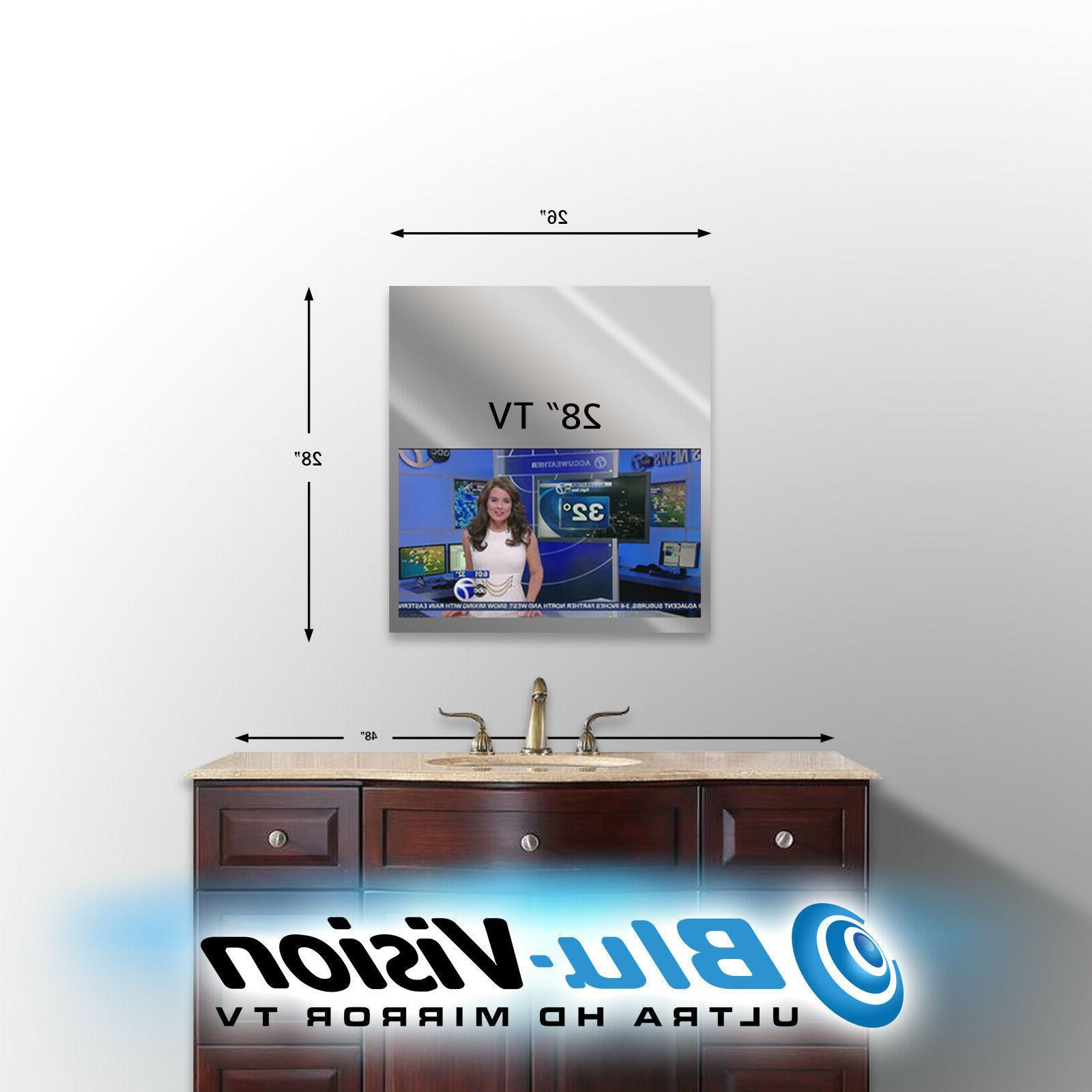 "VANITY TV 24"" LED HDTV 23 3/4""H."