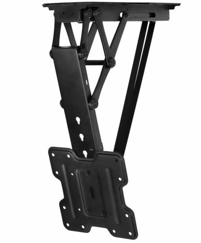 motorized ceiling tv mount