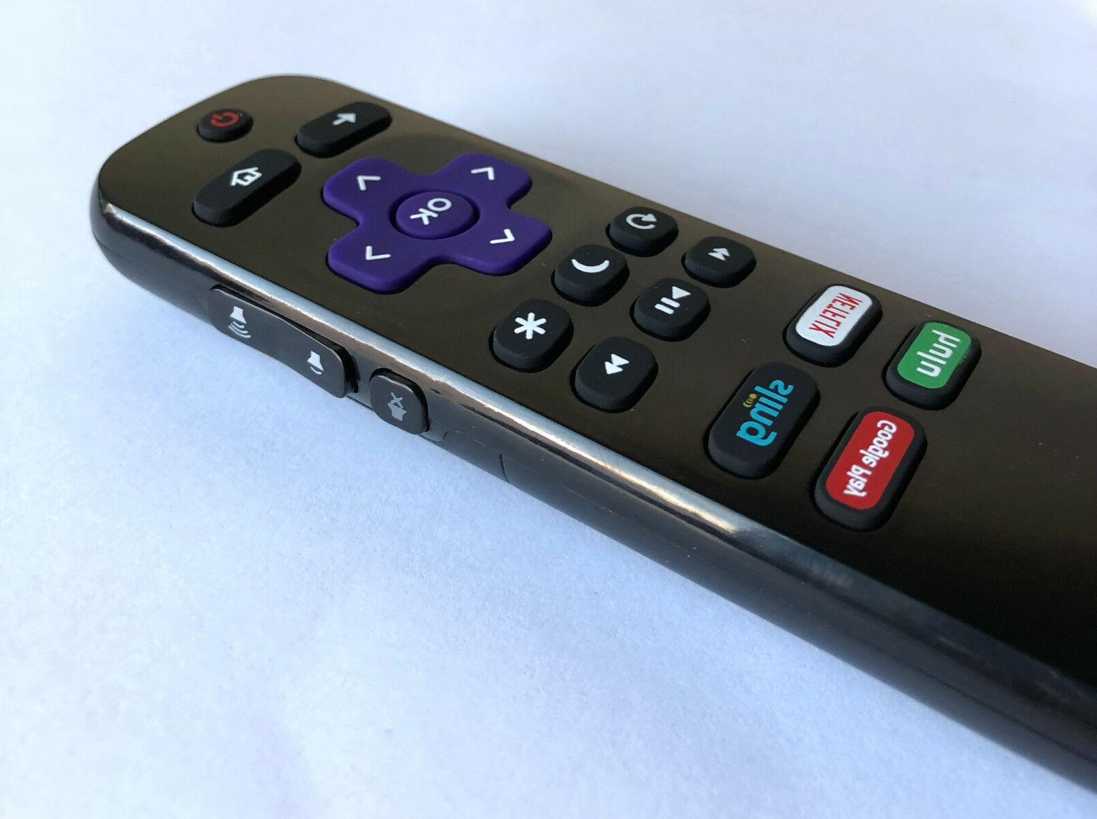 New Insignia Roku TV Replaced Remote NS-RCRUS-17 hulu