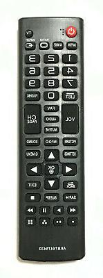 new lg replacement tv remote control akb74475433