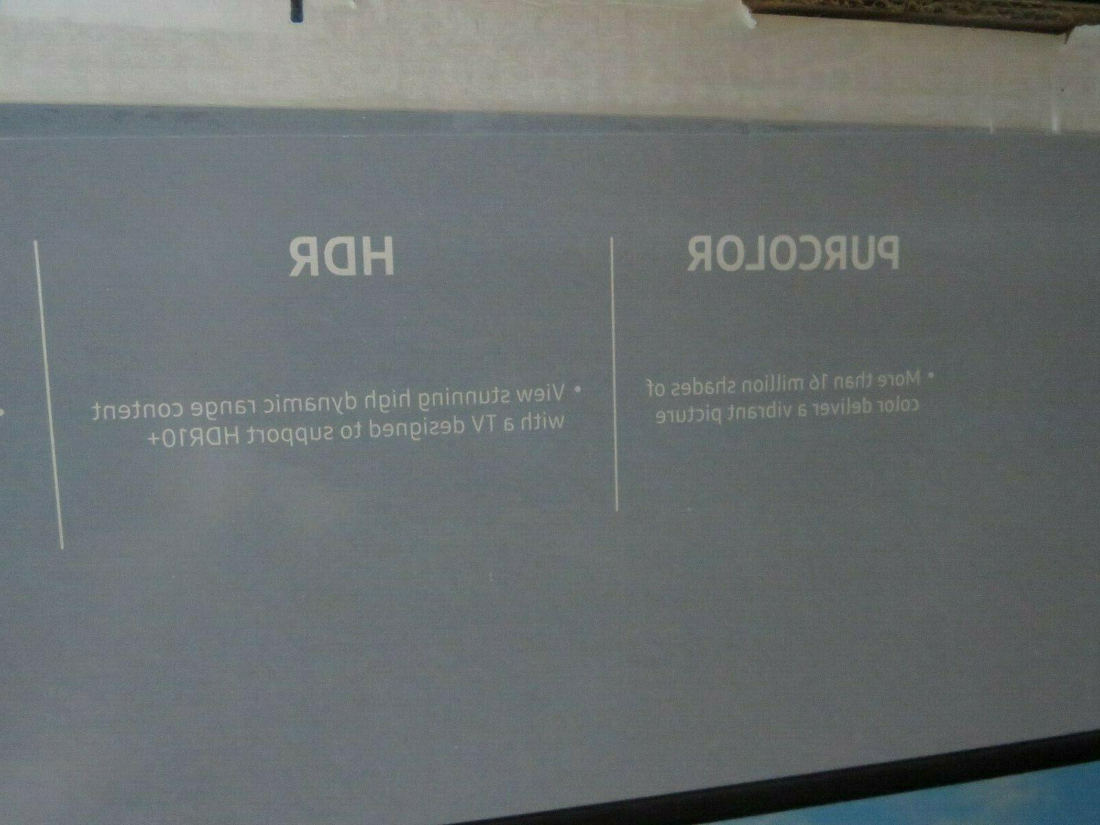 NIB television Samsung UHDTV Flat screen