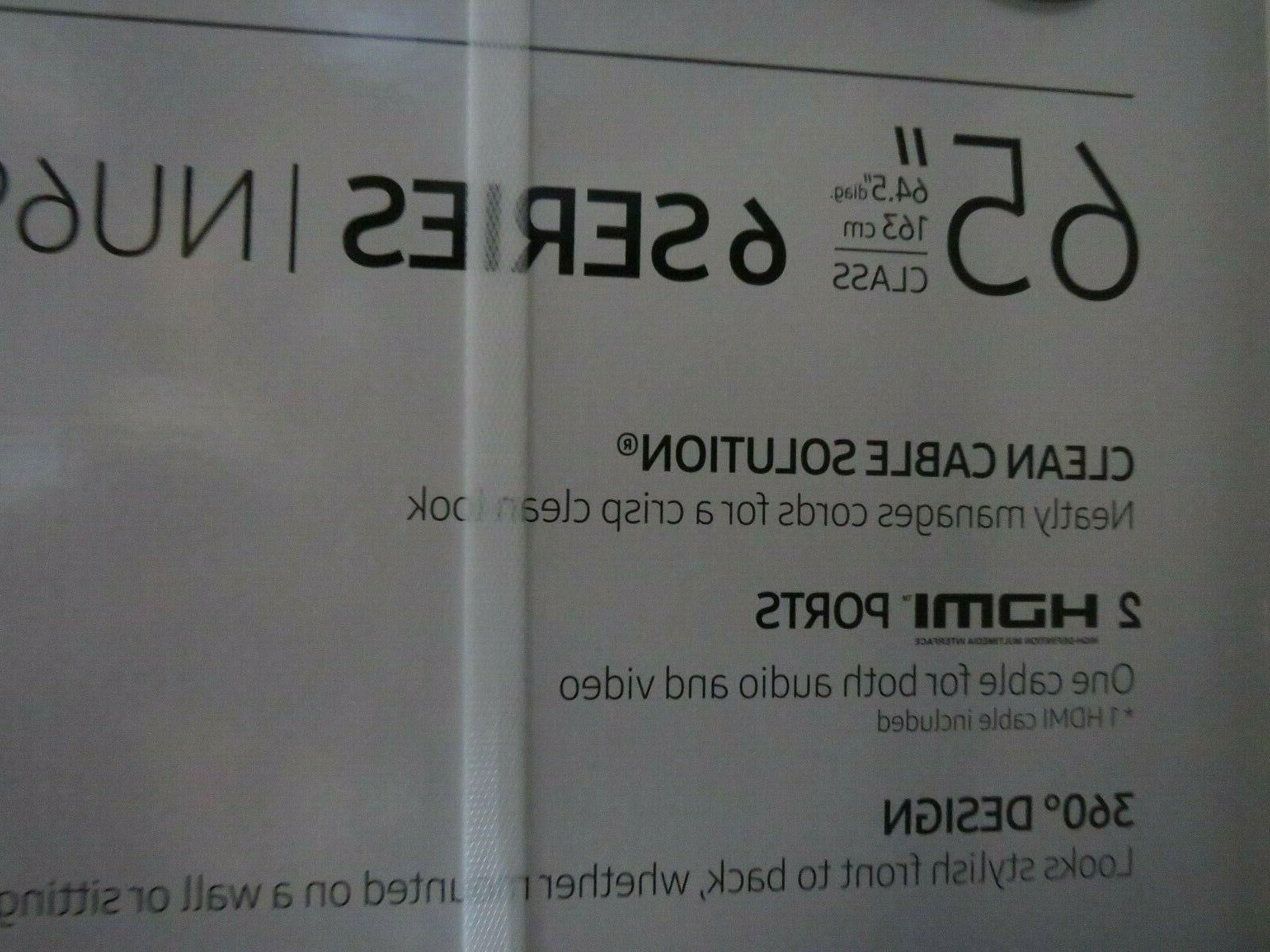 "NIB Samsung UHDTV 65"" Ultra Flat"