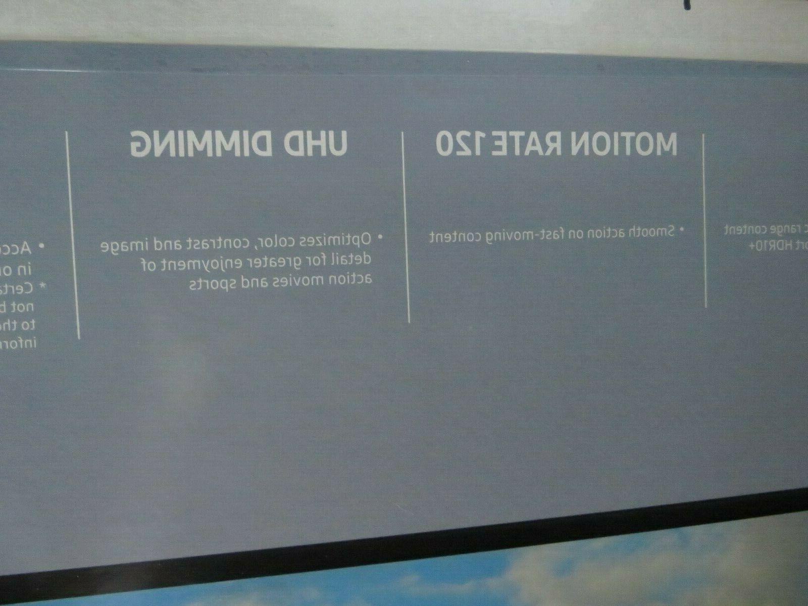 "NIB television Samsung 65"" Series Ultra HD TV Flat"
