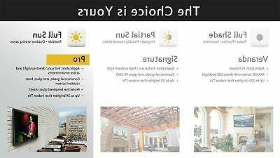 SunBriteTV 49-Inch Pro HD TV - SB-4917HD-BL Black