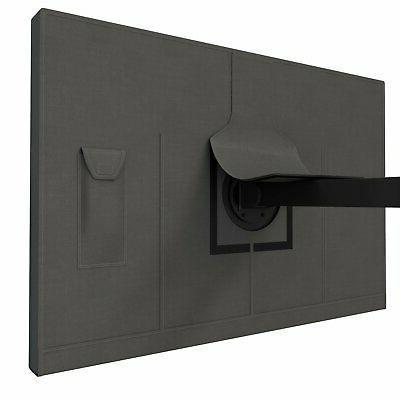 outdoor flat screen tv weatherproof cover fits