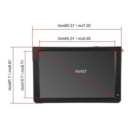 Portable TV Television Rechargeable DC 12V TFT-LED HDMI