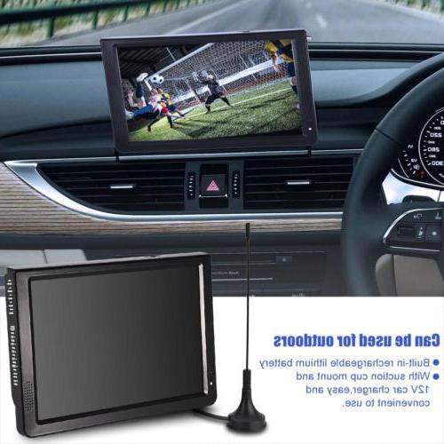 Portable TV Television Rechargeable DC TFT-LED