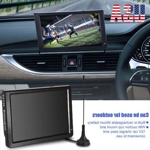 """Portable 12"""" TV Television Rechargeable DC 12V"""