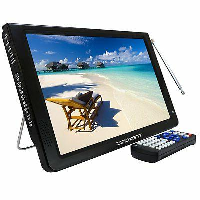 portable 12 led digital tv television rechargeable