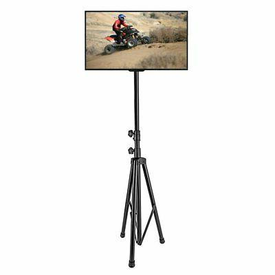 portable tripod tv stand supports