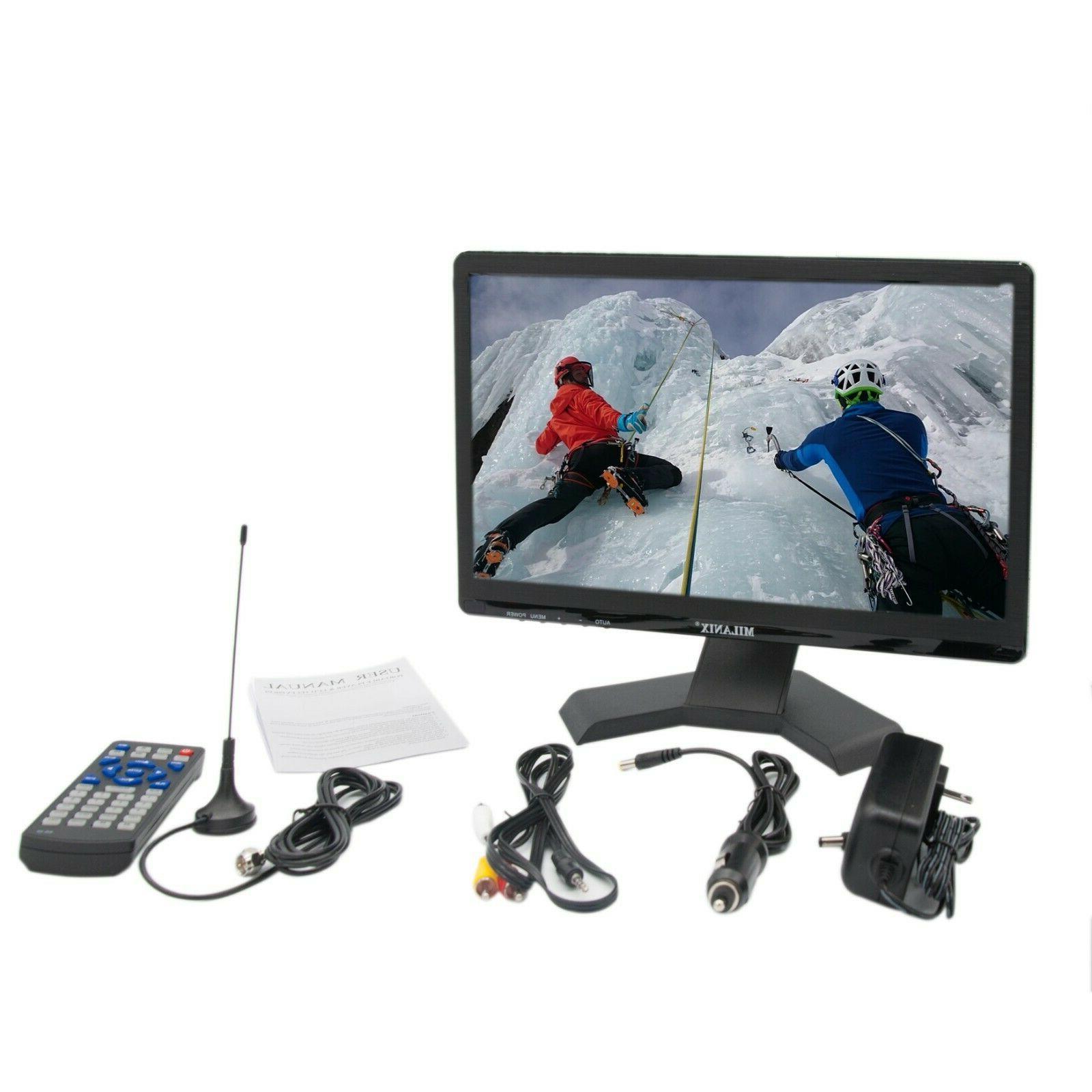 Portable TV LED Television VGA USB AC/DC
