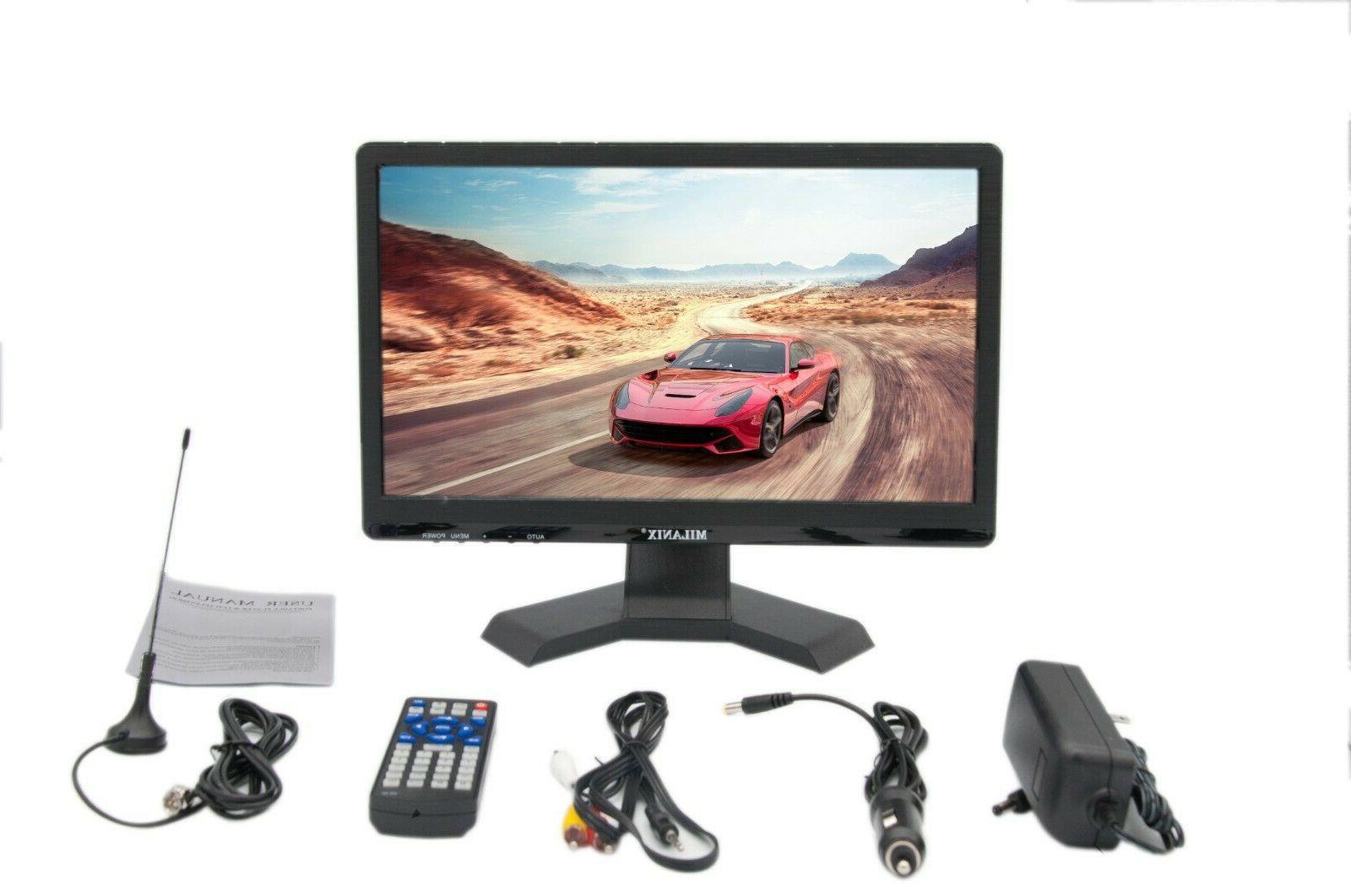 "Portable TV 15.6"" LED Digital Television VGA MMC AC/DC"