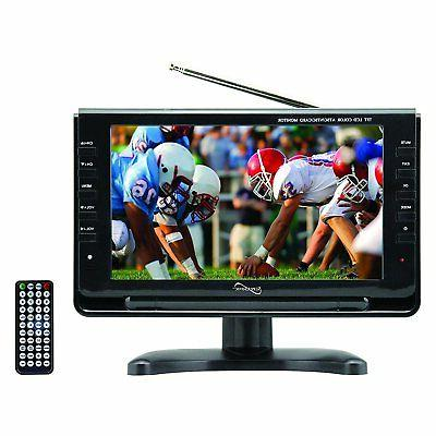"Supersonic 9"" Portable Widescreen LCD TV w/ Digital TV Tuner"