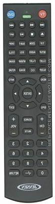 Original JENSEN Remote Control for  JE2814, JE3208, JE3214,