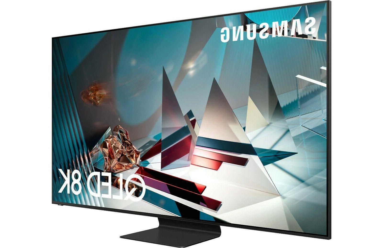 "Samsung QN82Q800TAFXZA 82"" 8K QLED Smart TV - Titan Black QN"