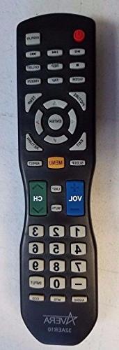 New USARMT Replaced Avera TV Remote for Avera TV Models 40AE