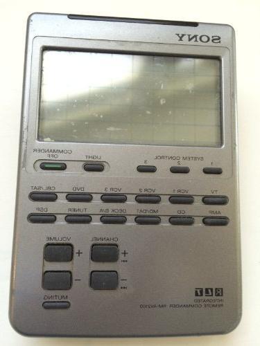 rm av2100 universal integrated remote