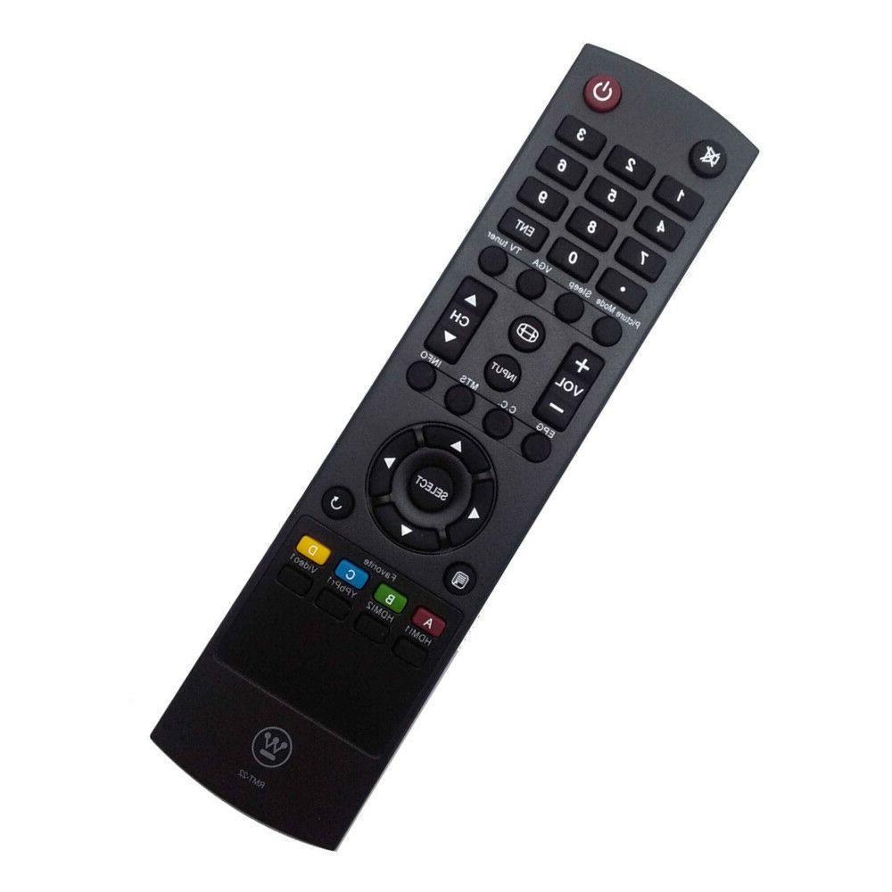 New Westinghouse TV Remote RMT-22 for UW-32SC1W UW-32S3PW UW