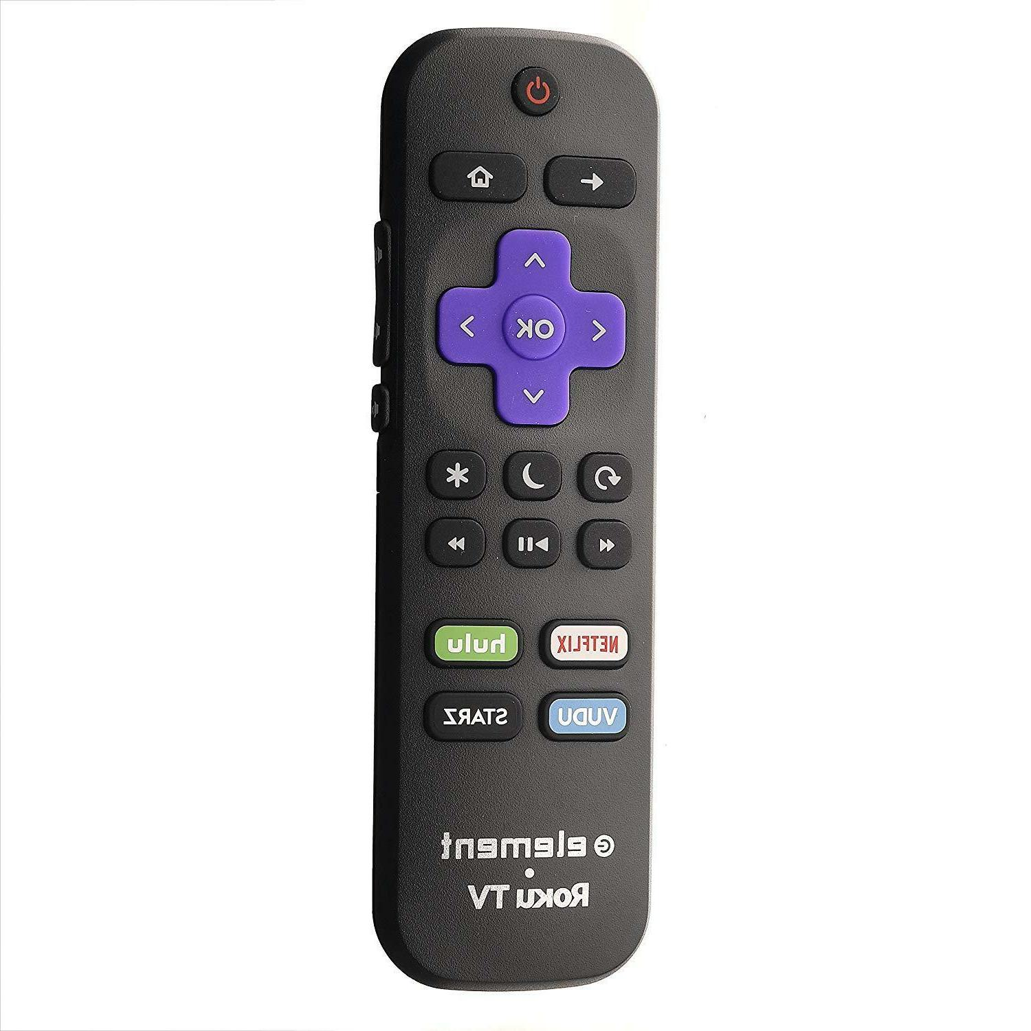 Element Roku ULTRA HD Remote Control - Netflix/hulu/Vudu/Starz