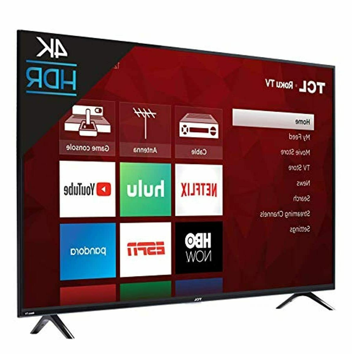 SmaTCL Inch 4K HD Roku LED TV