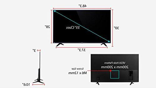 TCL 55-Inch Ultra LED TV