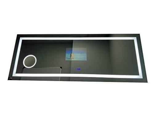 "63"" Rectangle LED Light, Blue TV: Touch"