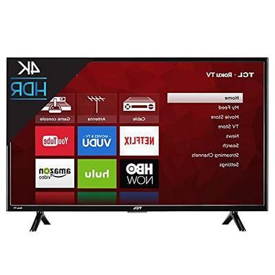 "TCL 43"" Class 4K UHD HDR Roku Smart LED TV 43S403"