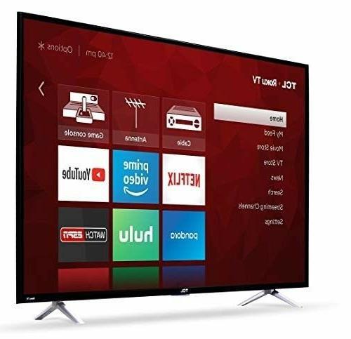 """TCL 55S405 120 Hz Smart TV, 55"""""""