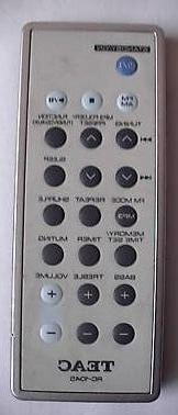 Original Teac Audio Remote Control RC-1045