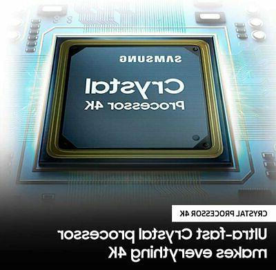 "Samsung 43"" AU8000 Crystal UHD HDR TV - 3"
