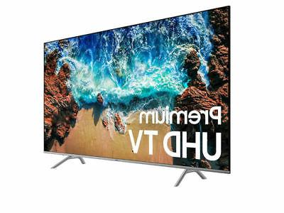 "Samsung Flat 82"" 4K 8 Smart LED"
